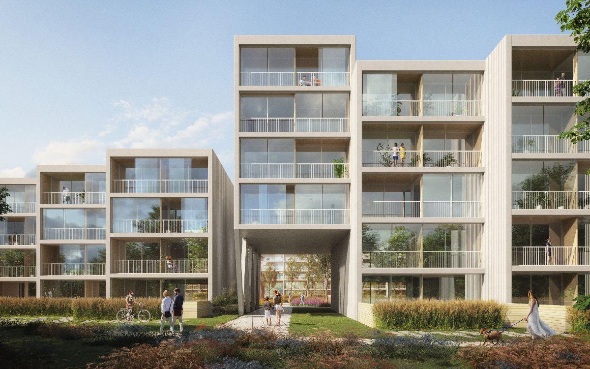 Benthem Crouwel Architects победила в конкурсе проектирования нового ЖК в Праге