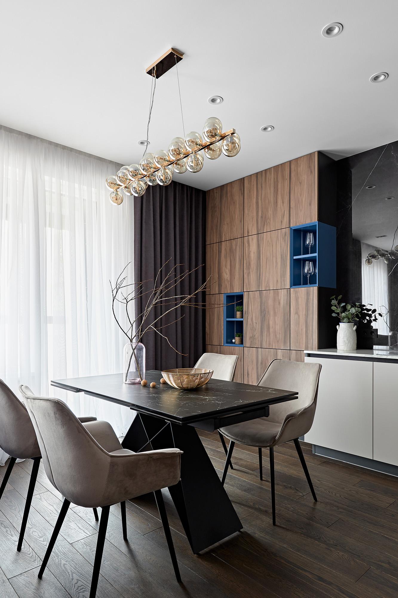Стильная семейная квартира в России