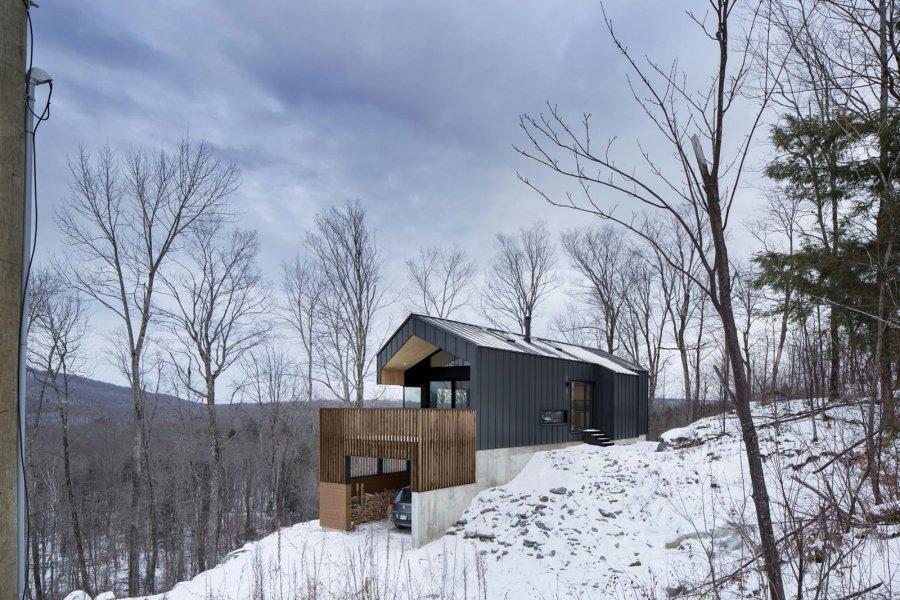 Дизайн загородного дома Bolton Residence в Канаде