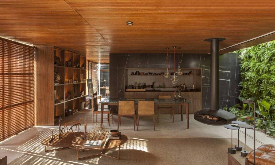 Дом коллекционера в Бразилии
