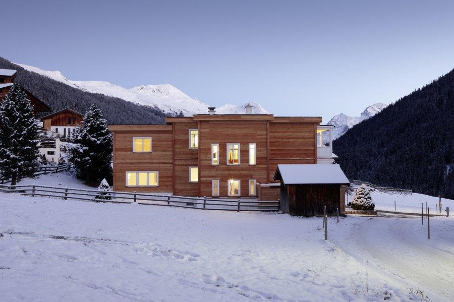 Дом с богатой историей на высокогорном швейцарском курорте