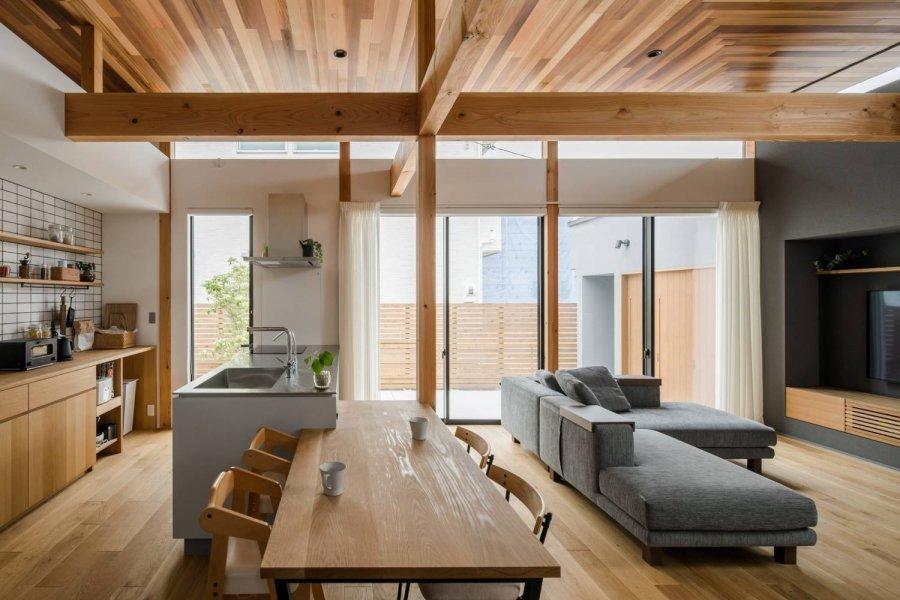 Семейный дом в традиционном японском стиле, Япония