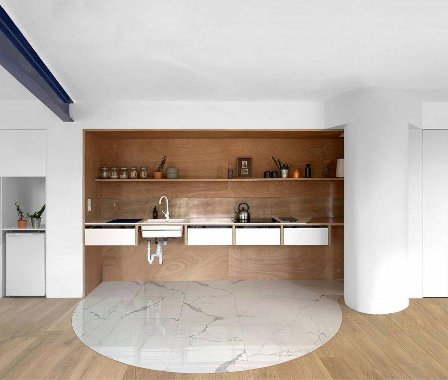 Современная минималистичная квартира для паралимпийца, Франция