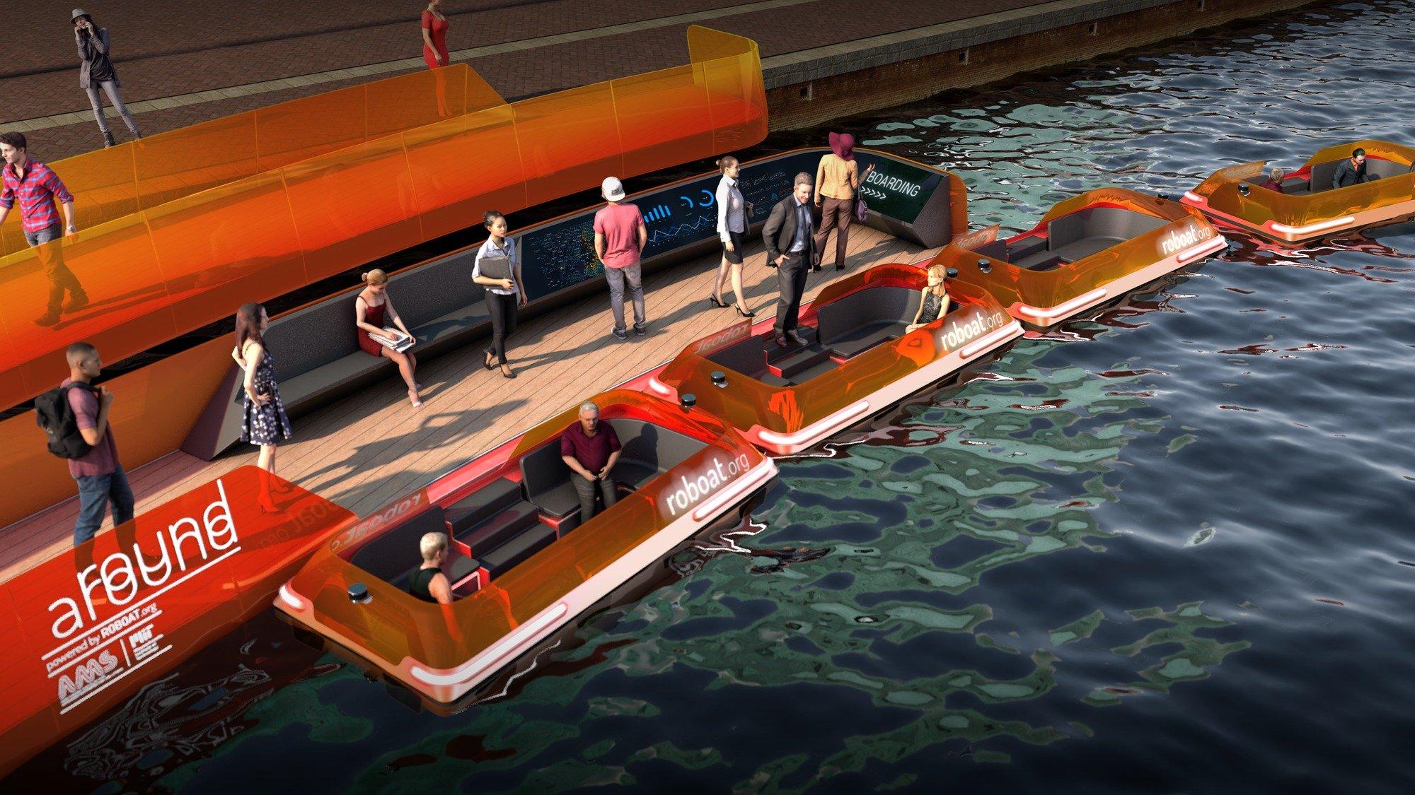 Первый в мире динамический мост в Амстердаме