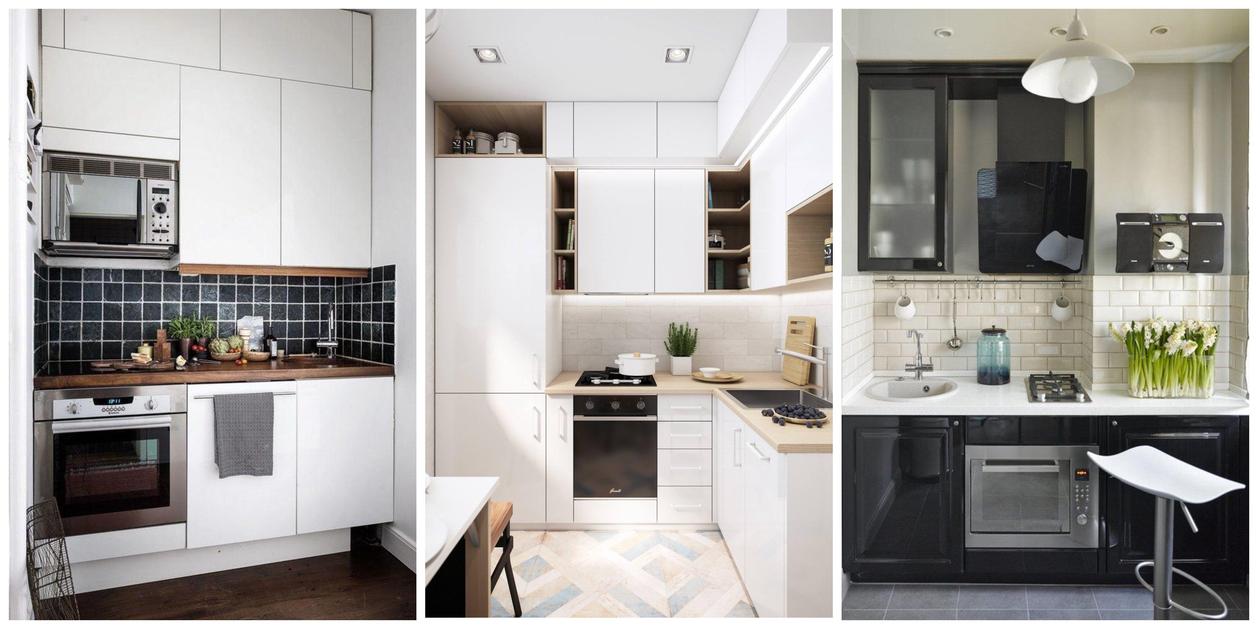 Дизайн маленькой кухни – лучшие идеи, 300 фото