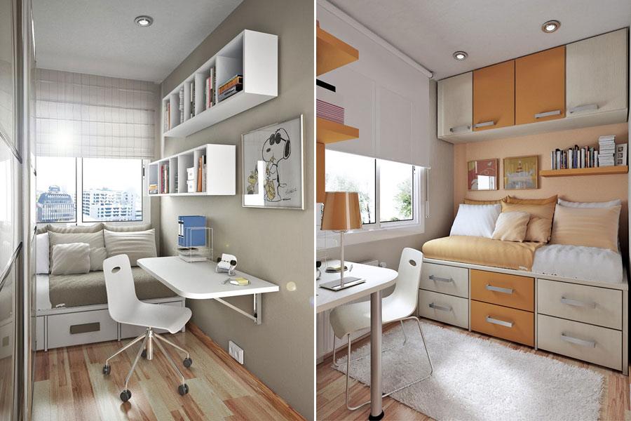 Как выбрать и расставить мебель в маленькой комнате?