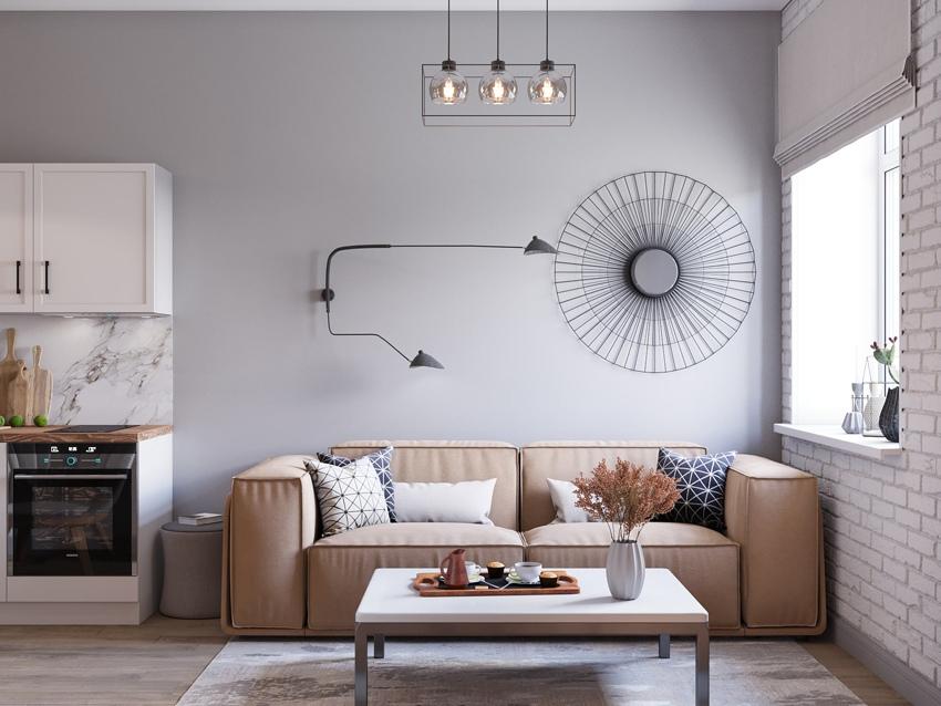 Нюансы дизайна интерьера маленькой комнаты: 110 фото