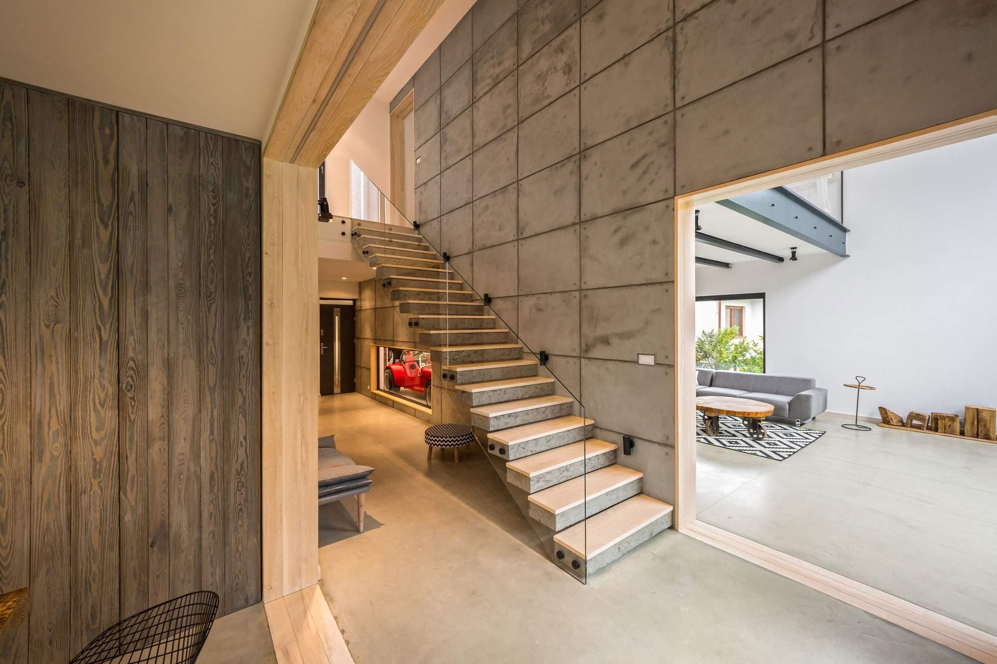 Дом с оригинальным интерьером в Польше