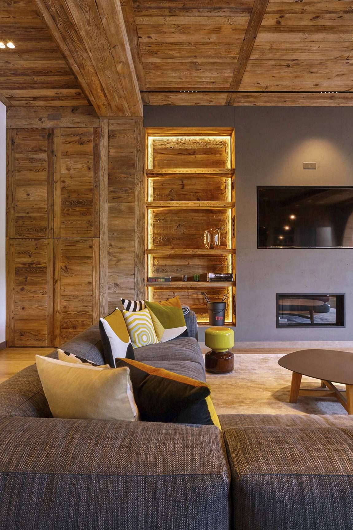 Эксклюзивная квартира во французских Альпах