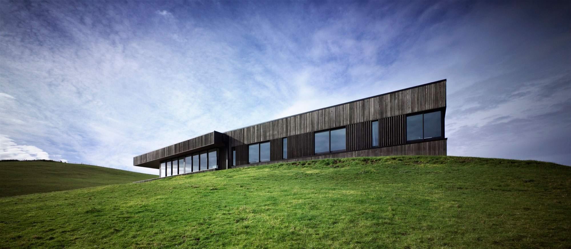 Современный фермерский дом в Новой Зеландии