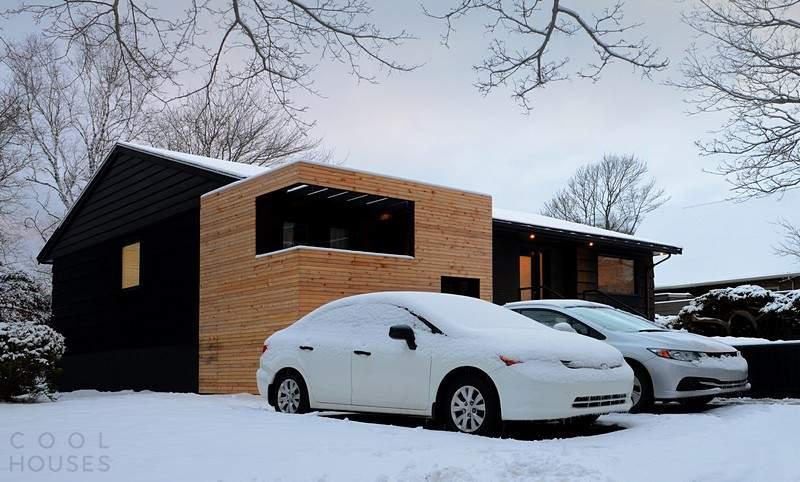 Уютный загородный дом в Канаде