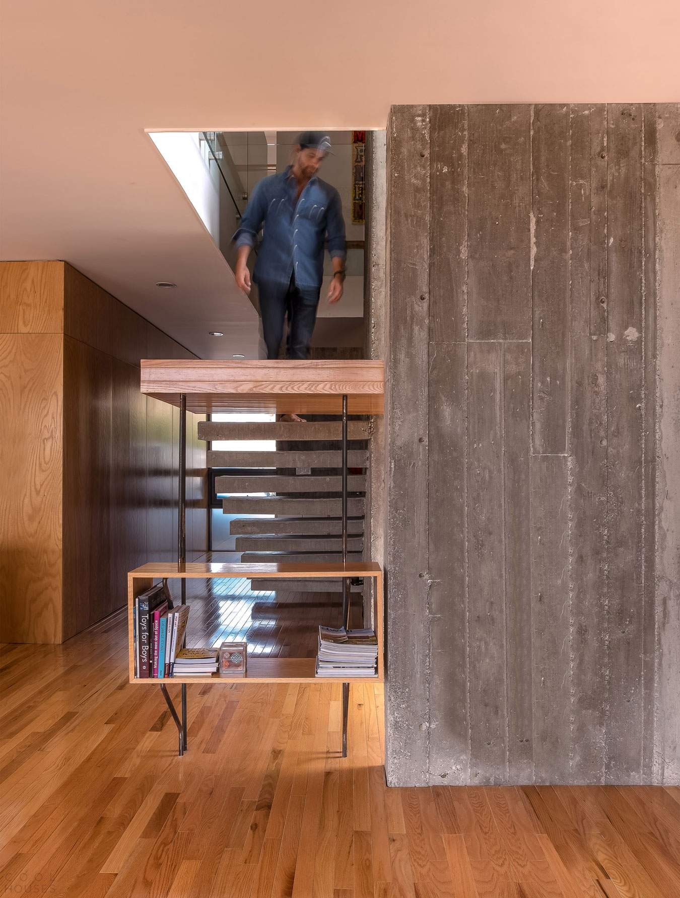 Жилой дом на бетонном основании и в стальной коробке в Мексике
