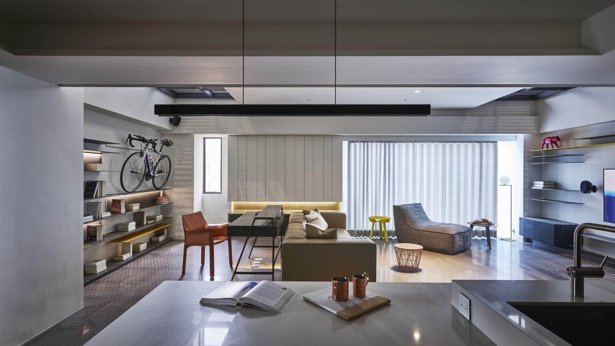 Дизайн интерьера, вдохновленный увлечениями владельцев
