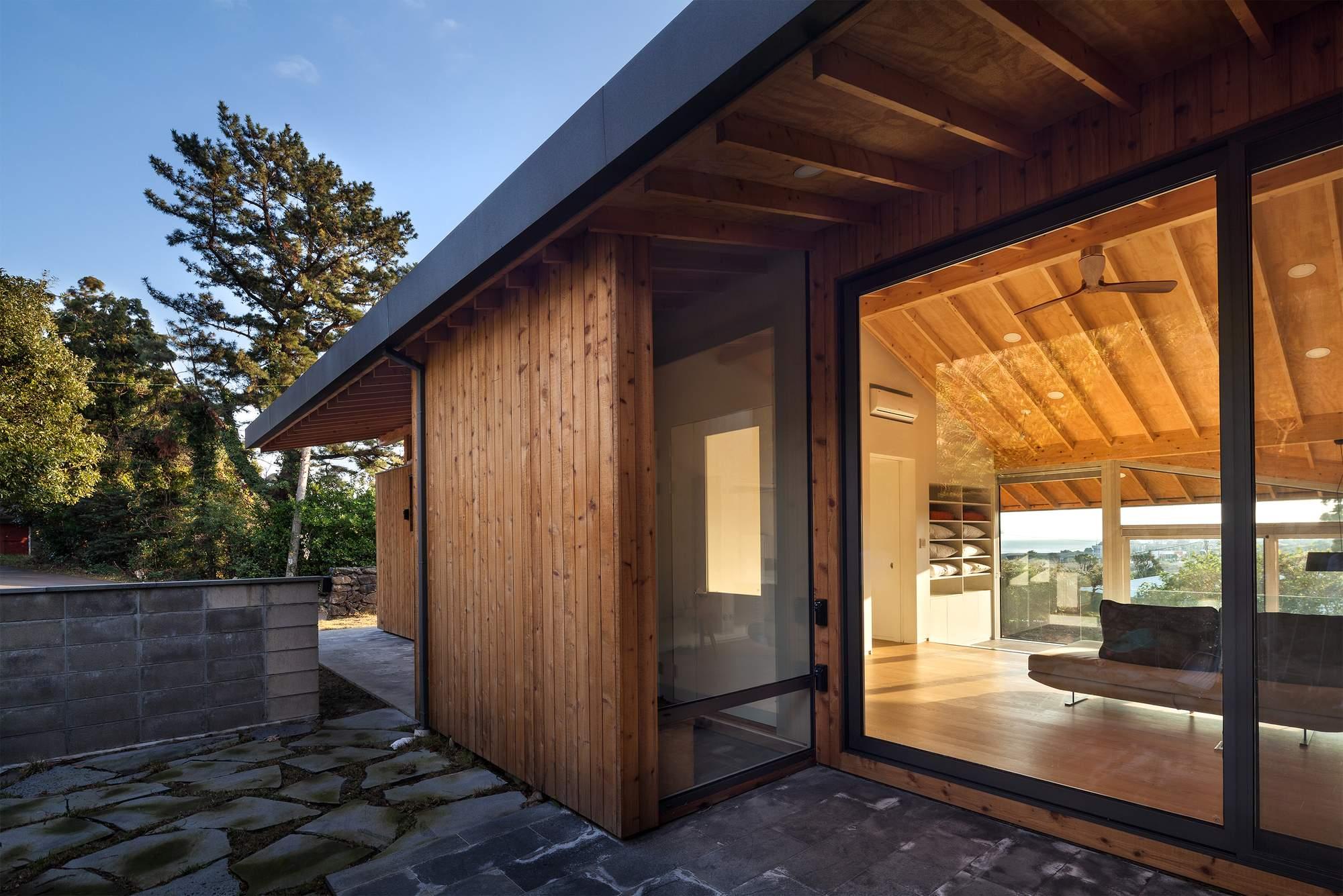 Гостевой дом с элементами стиля Ханок в Южной Корее