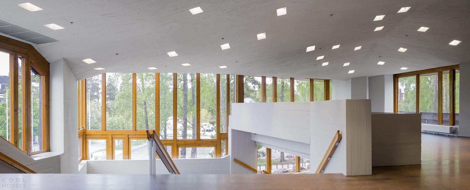 Реконструкция главного здания Университета Аалто в Финляндии