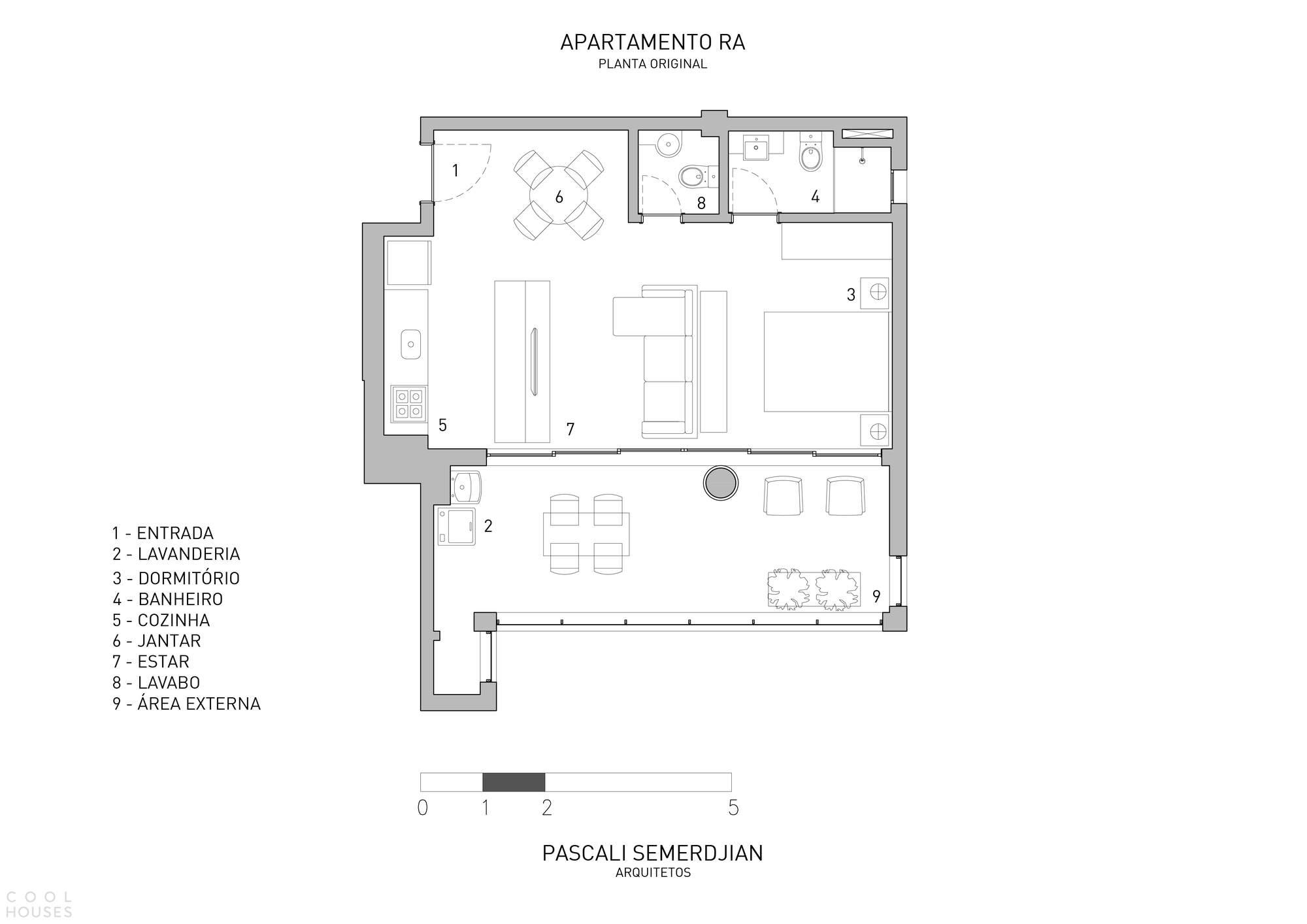 Квартира-трансформер RA Apartment, Бразилия