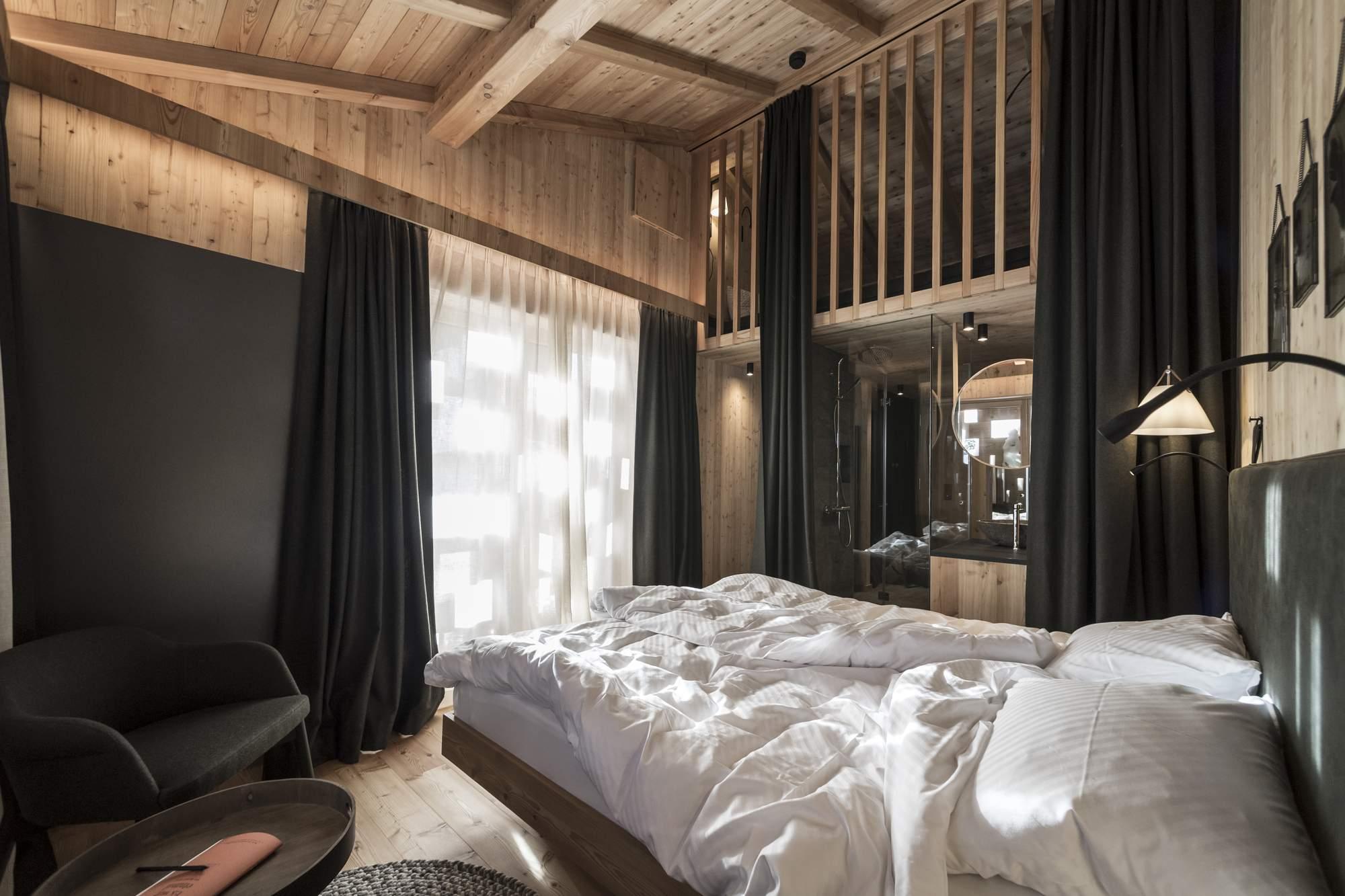 Высокогорный экологичный отель Zallinger Refuge, Италия