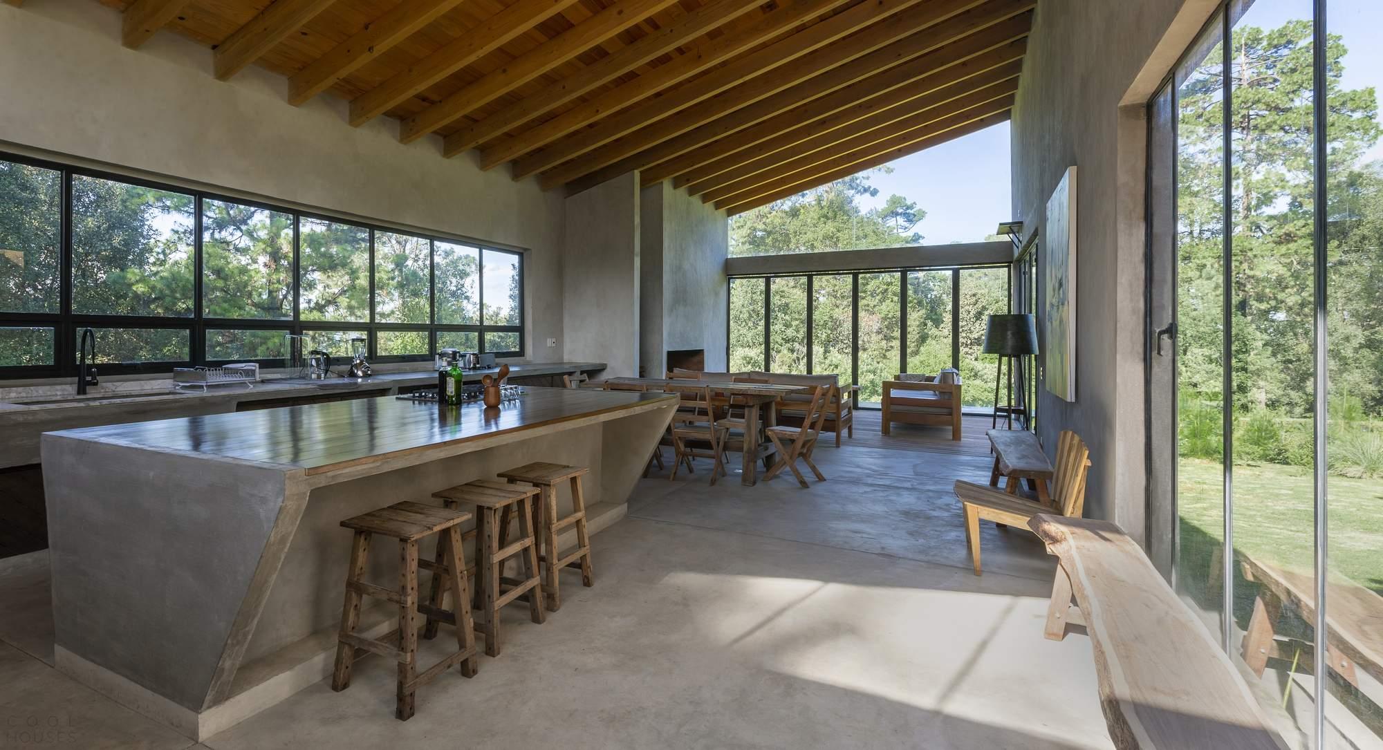 Загородный дом Casa V в Мексике