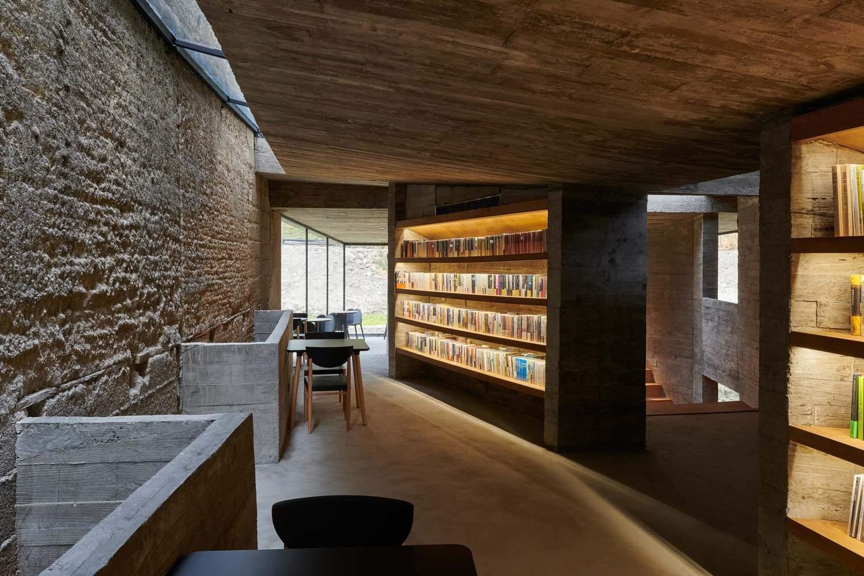 Деревенский книжный магазин на месте заброшенной резиденции, Китай