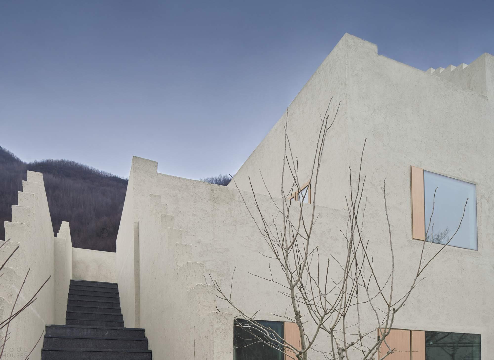 Проект отеля «Небесный двор долины Рехе», Китай