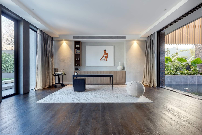 Семейный дом со сдержанным архитектурным дизайном и роскошным интерьером, Австралия