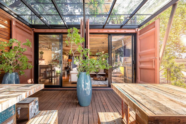 Висячий Дом от Casa Container Marília, Бразилия