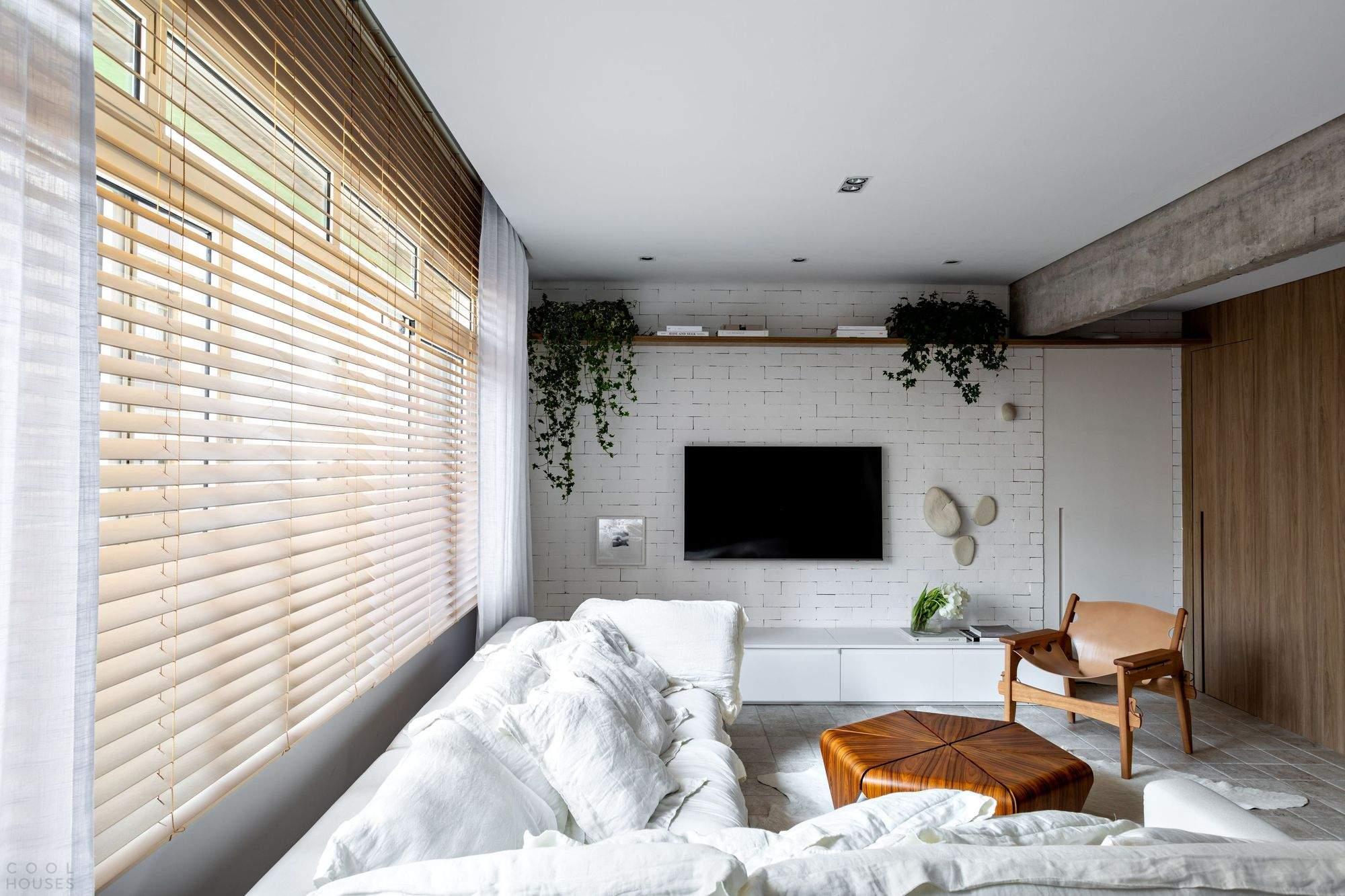 Апартаменты с максимальной интеграцией пространств, Бразилия