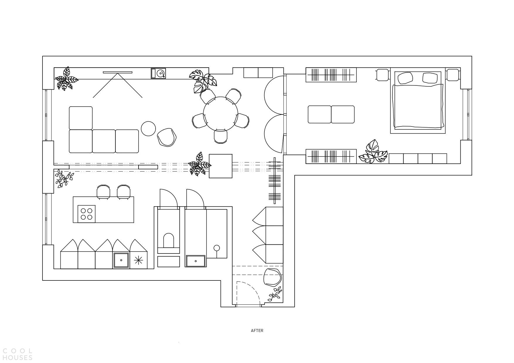 Минималистичные апартаменты-лофт с оригинальным дизайном, Словакия