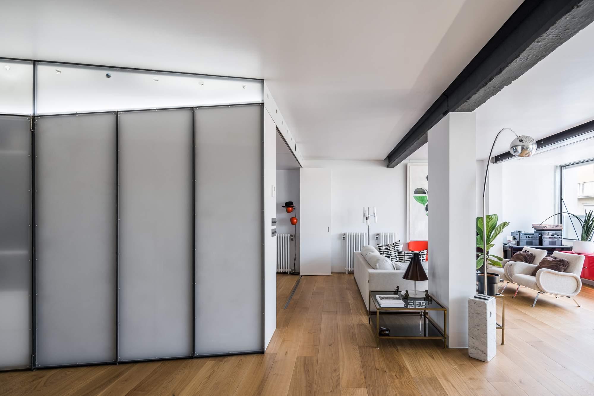 Пентхаус с эклектичным стильным интерьером, Испания
