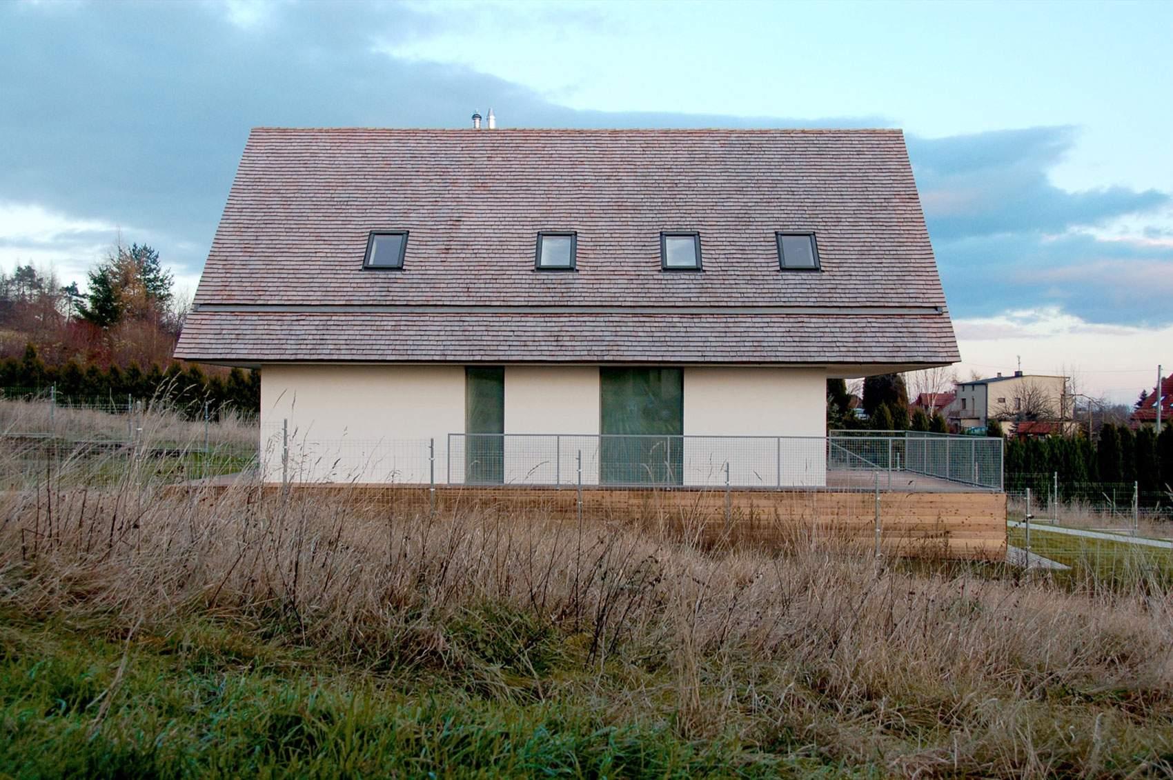 Частный дом в Закопанском стиле в Польше
