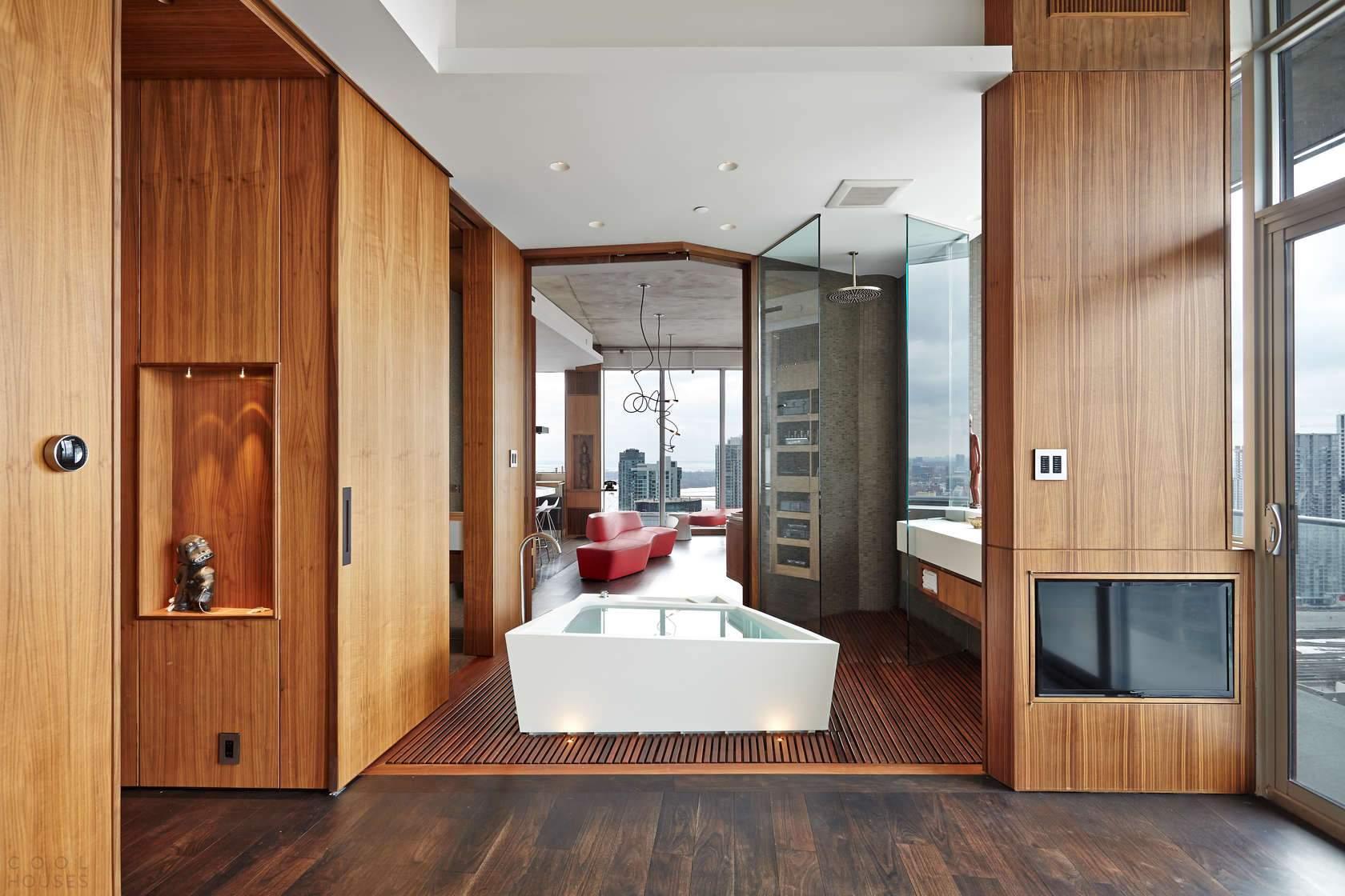 Пентхаус с эксклюзивным дизайном в Канаде