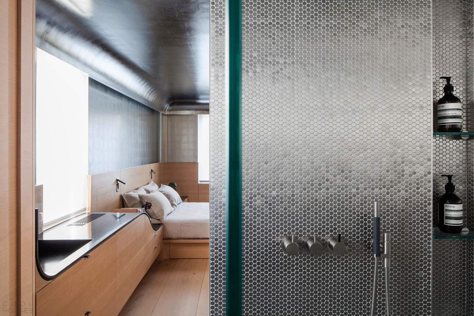Уникальная квартира со стильным интерьером на Манхэттене, США