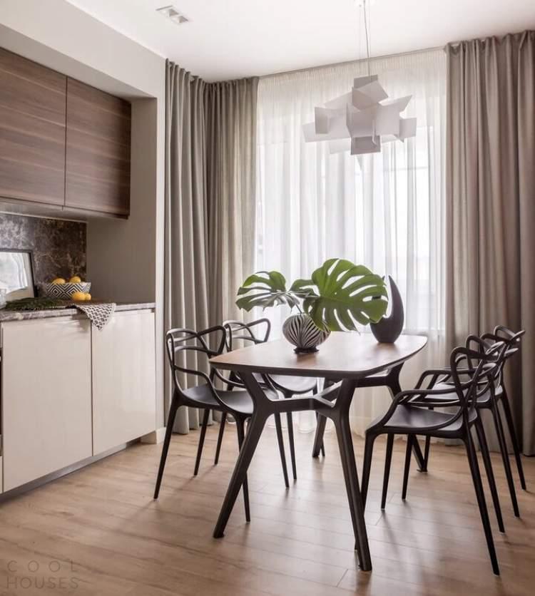 Квартира с элементами индустриального стиля, Россия