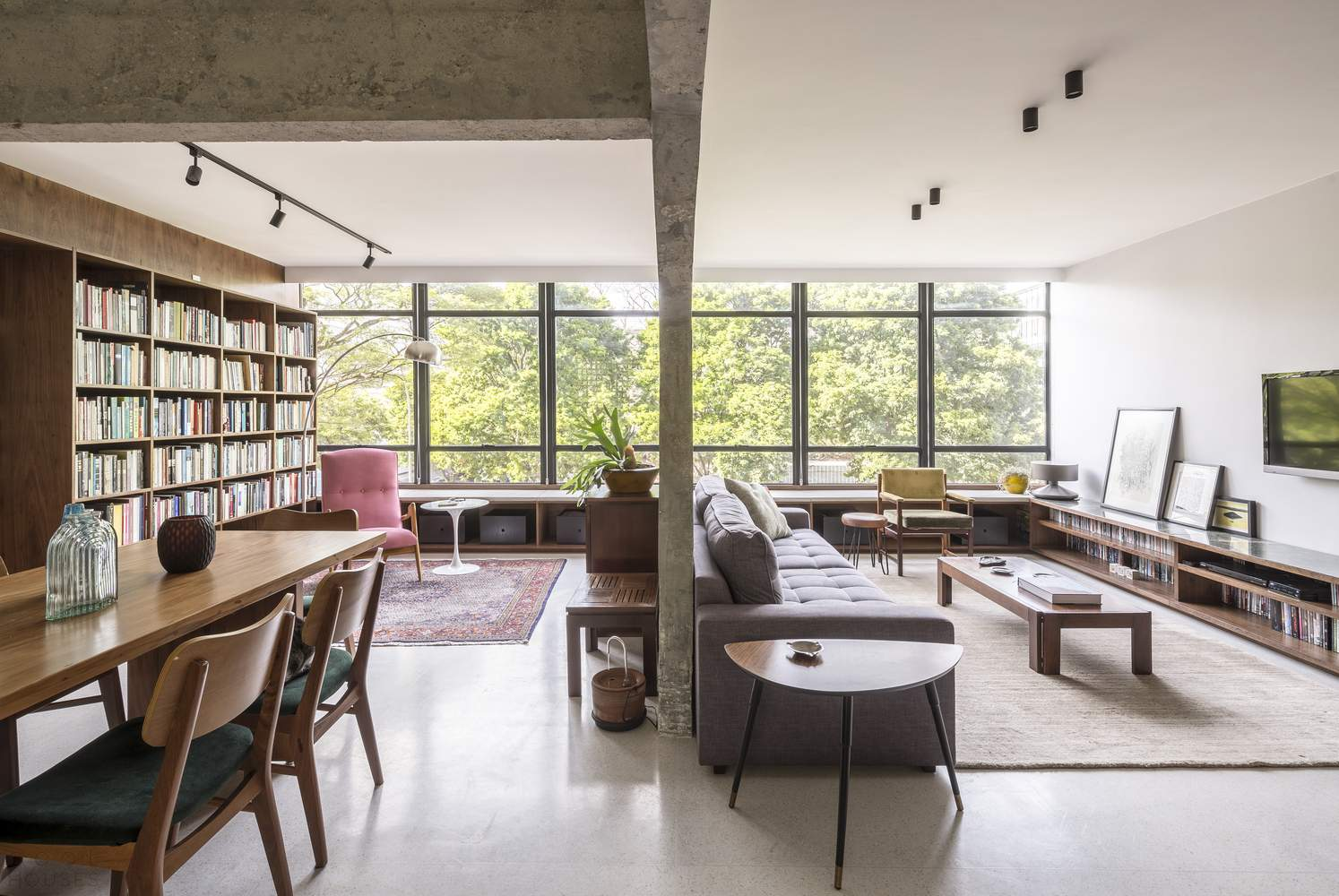 Квартира с дизайном в стиле модернизм, Бразилия