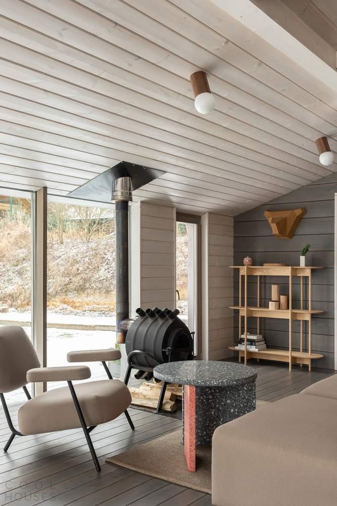 Модульный дом с дизайнерским интерьером, Россия
