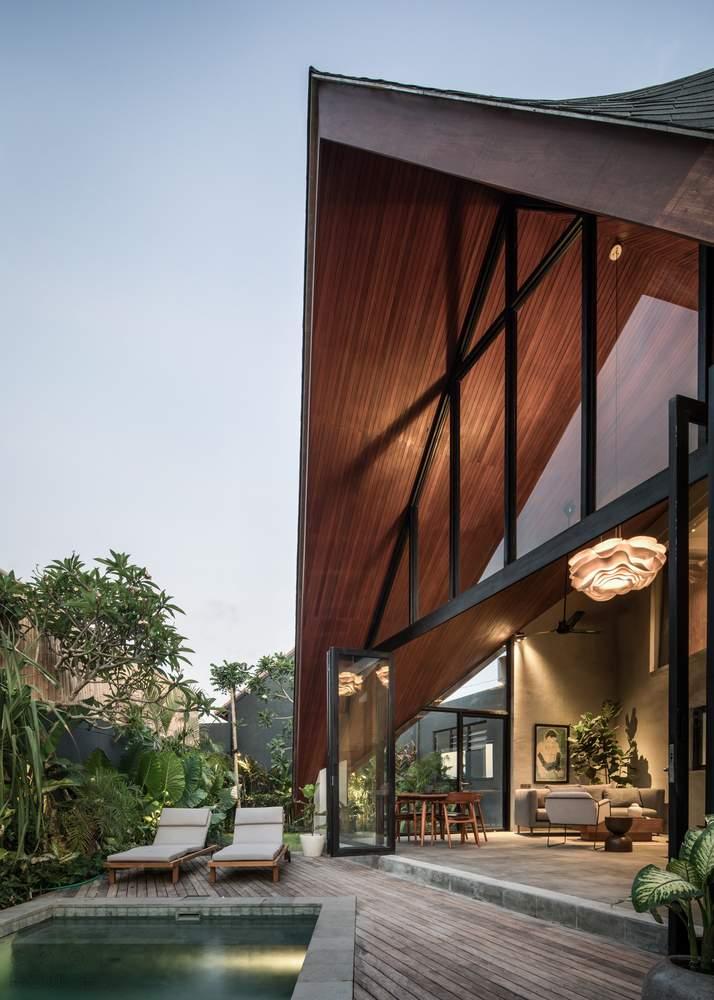 Отель-вилла The River Studio на острове Бали, Индонезия