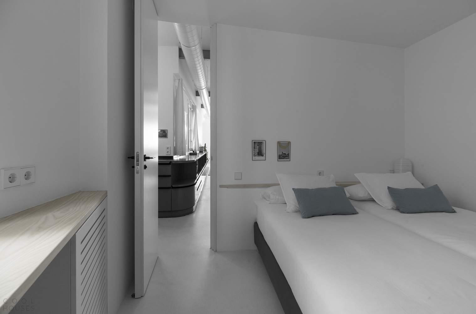 Реконструкция квартиры, используемой для краткосрочной аренды, Испания
