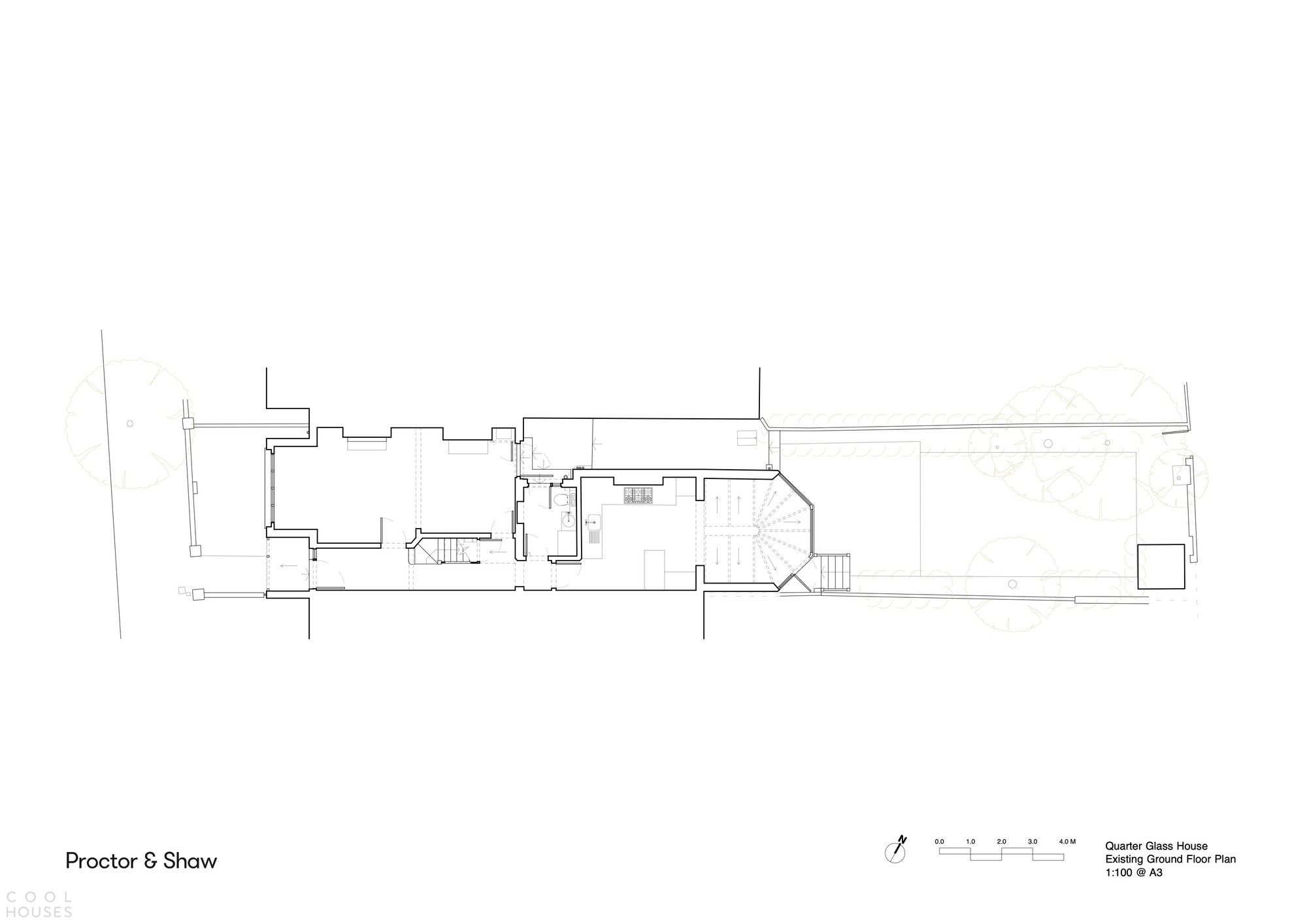 Современная пристройка к эдвардианскому террасному дому