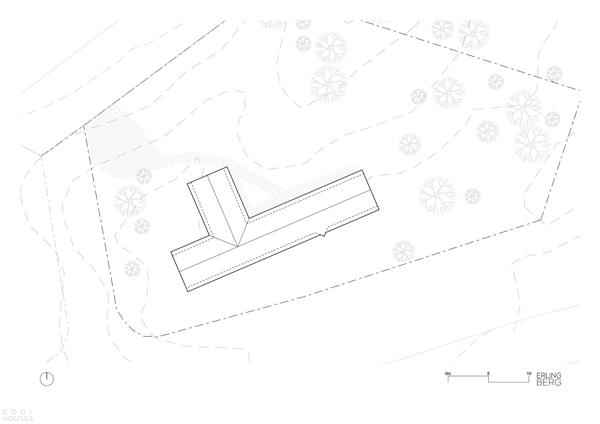 Минималистичная деревянная кабина на горнолыжном курорте Квитфьель