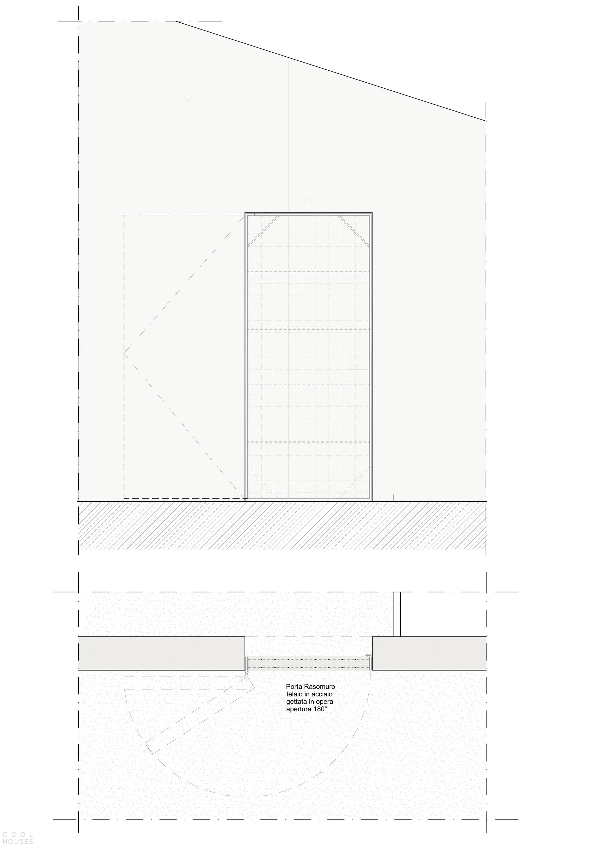 Бетонный монолитный дом-пирамида в японском стиле