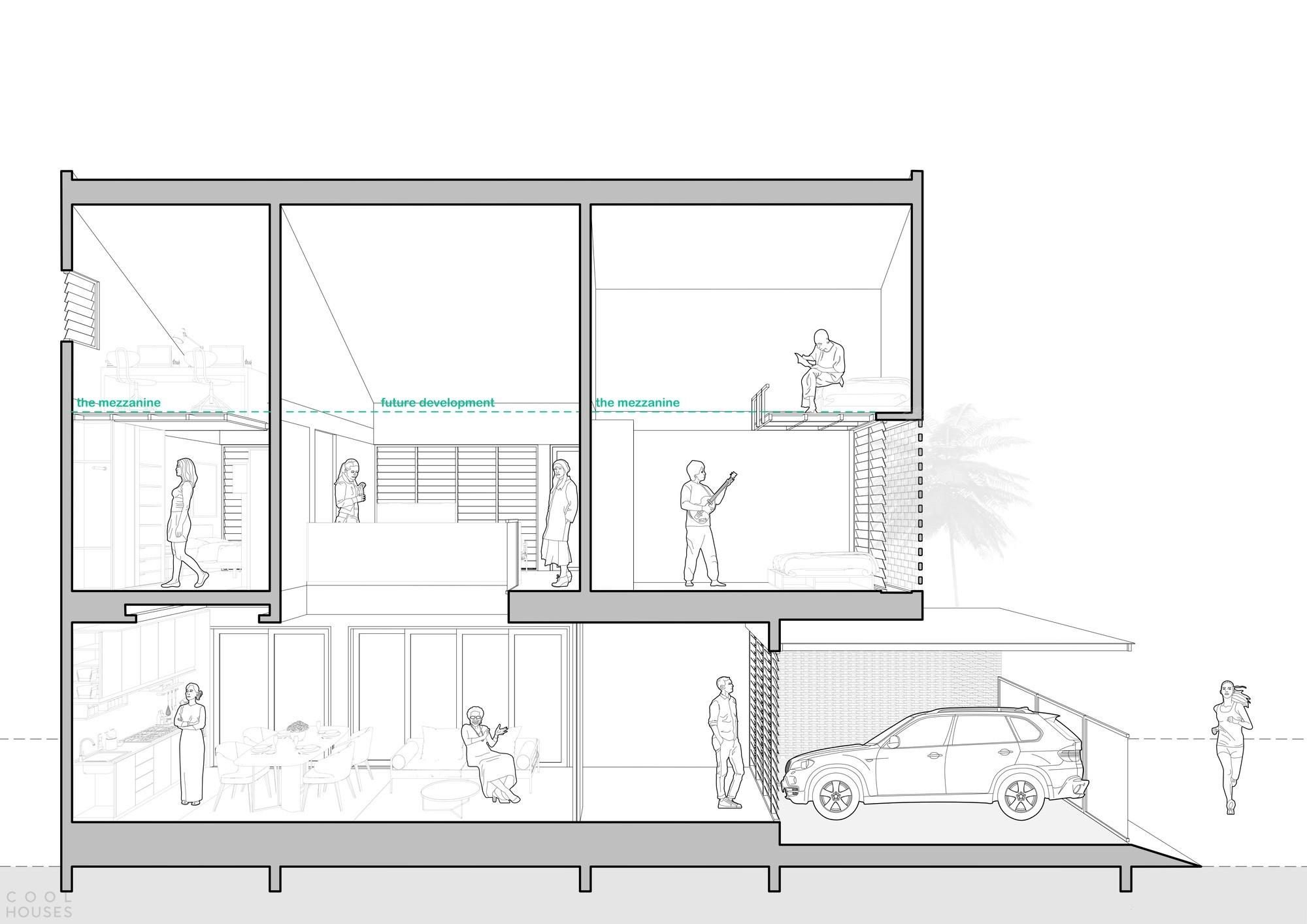 Семейный дом с креативным дизайном и здоровой благоприятной атмосферой