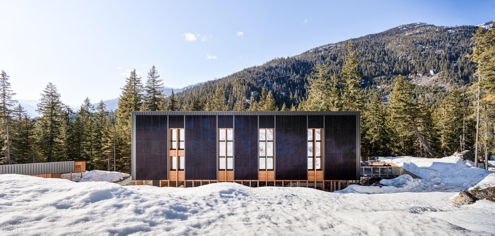 Деревянный модульный пассивный дом - «храм пихты Дугласа»