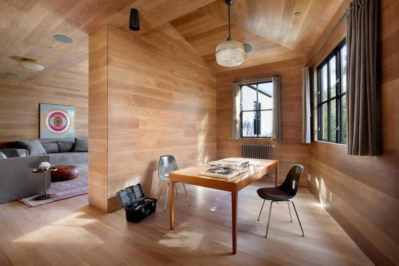 Дом художника, получивший сертификат LEED Platinum, в США