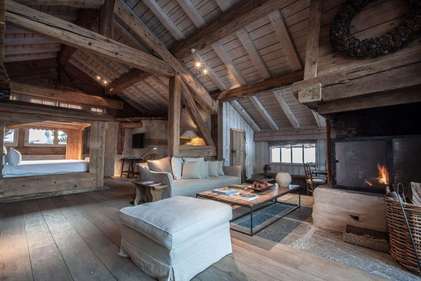 Эксклюзивный горный отель Le Chalet Zannier во Франции