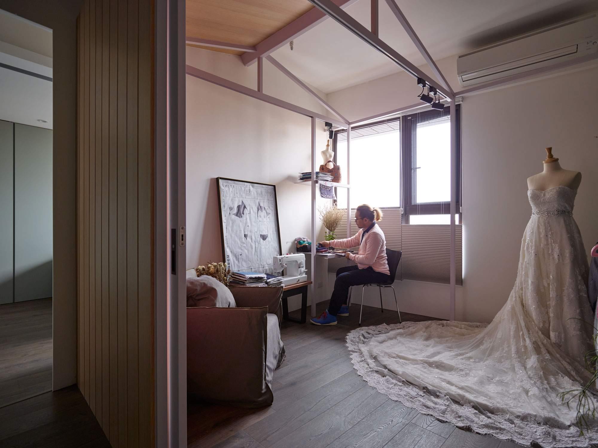 Квартира коллекционеров кукол в Тайване