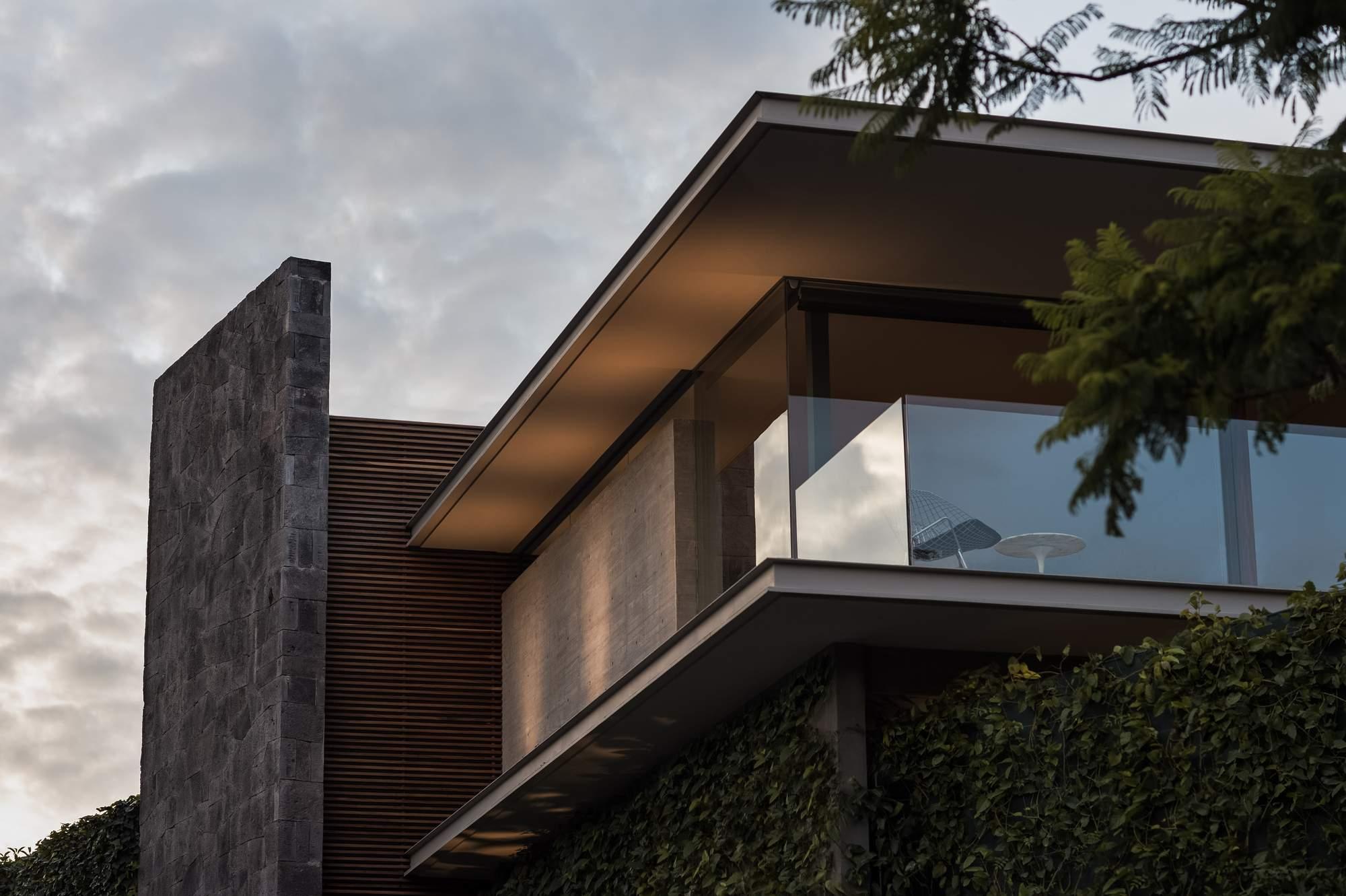 Современная вилла с модернистскими элементами в Мексике