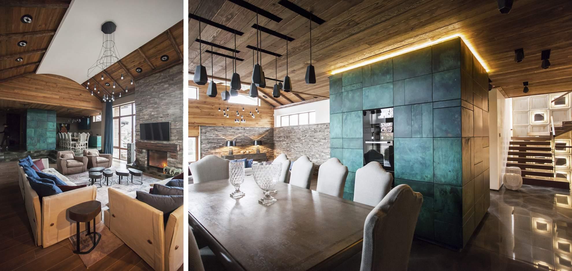 Современное шале от OM-architecture, Украина