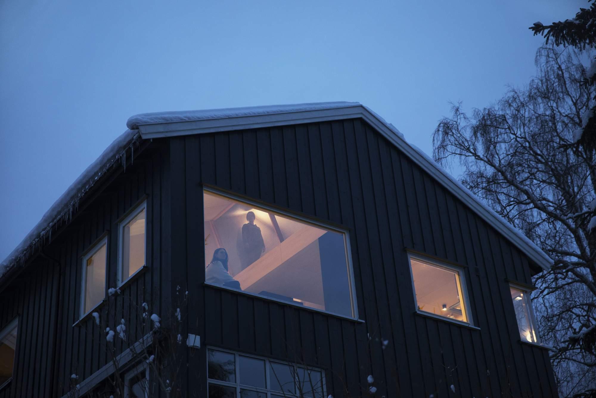 Уютный семейный дом в Норвегии