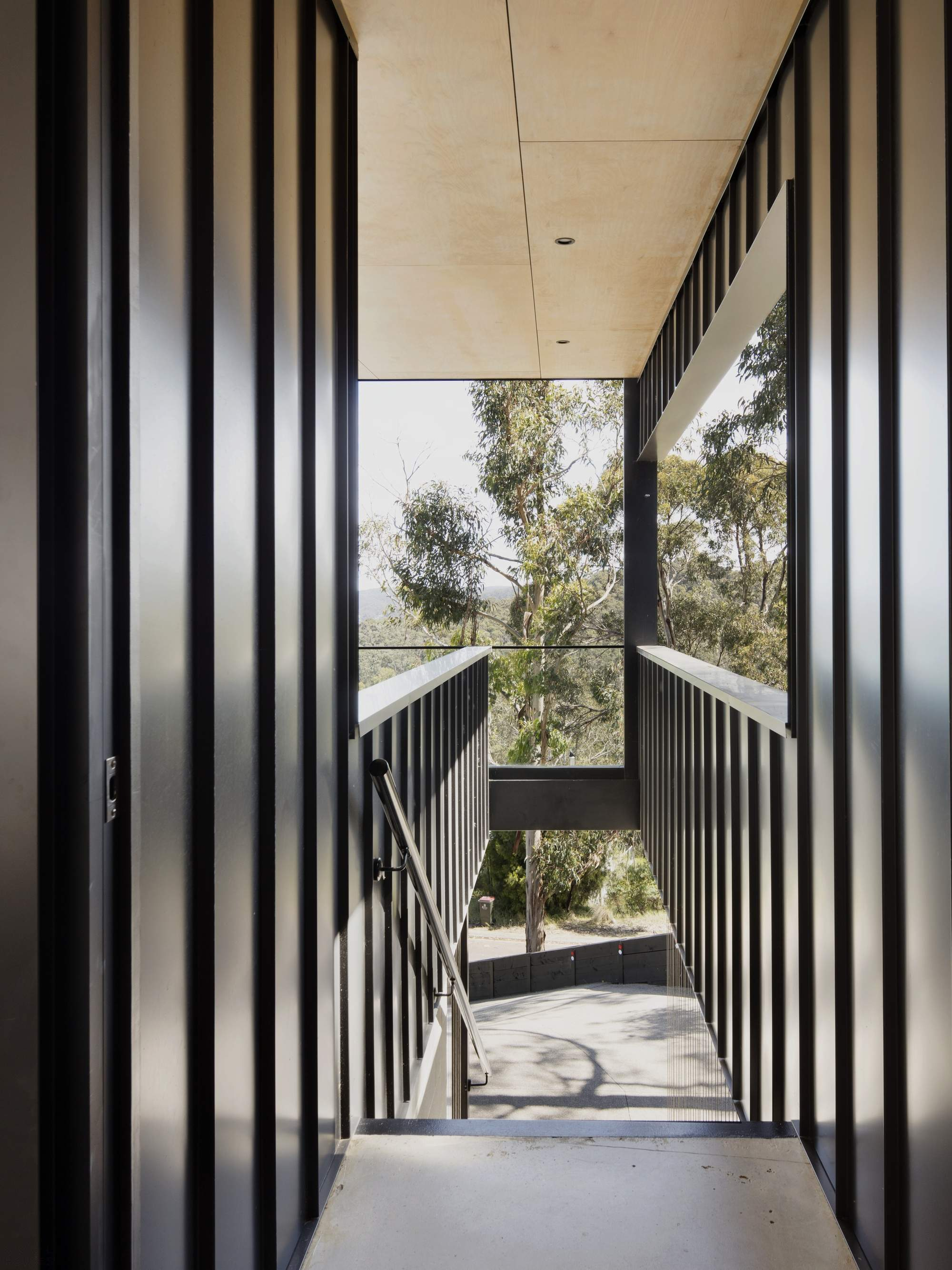 Дом с трехуровневой организацией пространства, Австралия