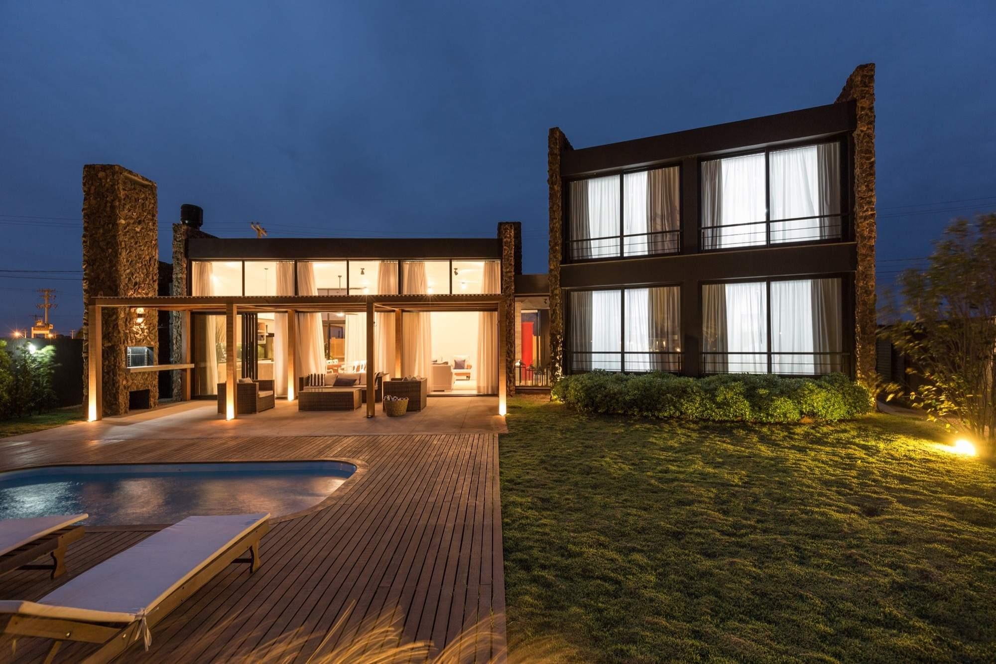 Семейный дом на южном побережье Бразилии